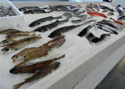 Pescadería Galicia Rias Baixas marisco fresco local producto de proximidad a domicilio